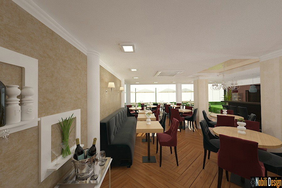 classic restaurant interior design concept london | Interior designer London, UK.