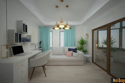 Concept interior for modern home in London